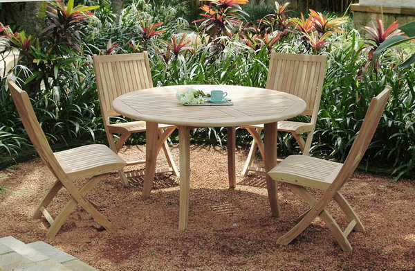 ANS Angela Side Chair With Round Table Set - Angela coffee table