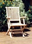 GC 02A King Folding Arm Chair