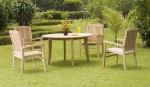 NJS 05-New Java (4 chairs) round table set