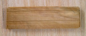 Teak Parquet 15 X 90 mm [tongeu & groove] TOP
