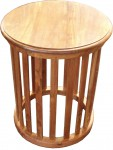 round slat table